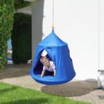mömax Nestschaukel in Blau 'Leon'