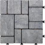 mömax Klagenfurt Terrassenfliese Stone in Grau ca. 30x30cm