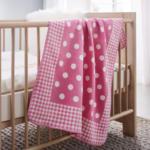 mömax Villach Babydecke Ibena in rosa