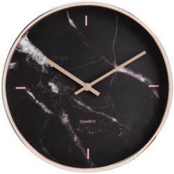 Uhr Priya in Schwarz ca.Ø30,4cm