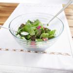 mömax Oberaich Rösle Salatschüsselset aus Glas mit Besteck 3-teilig