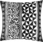 mömax Zierkissen Harare Schwarz/Weiß 45x45cm