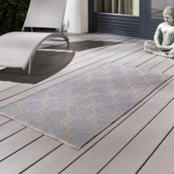 Outdoorteppich in Grau/Taupe ca.70x140cm 'Jaques'