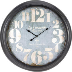Uhr Bronx in Grau ca.Ø93cm