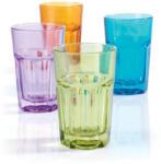 mömax Trinkglas Mario verschiedene Farben