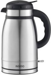 Wasserkocher Vitus Silberfarben/Schwarz