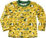 dm-drogerie markt ALANA Kinder Pullover, Gr. 98, Bio-Baumwolle, gelb, grün, Bauernhof