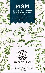 Nature Love MSM-Tabletten mit Vitamin C, 365 Stück