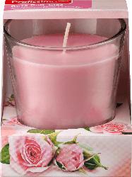 Profissimo Duftkerze mit Glas Rose