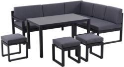 Dining-Loungeset 6-teilig 213/169 cm
