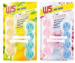 W5 WC Discs 4-in-1