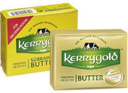 Kerrygold Irische Butter versch. Sorten, jede 250-g-Packung