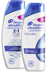 Head & Shoulders Anti-Schuppen Shampoo versch. Sorten jede 400/360-ml-Flasche