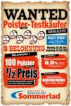 Möbelstadt Sommerlad WANTED Küchen-Testkäufer - bis 07.09.2019