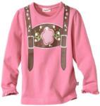 NKD Baby-Mädchen-Trachten-Shirt in Pink