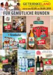 Getränkeland Für gemütliche Runden - bis 30.09.2019