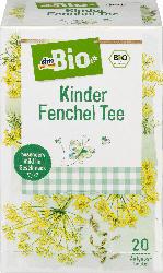 dmBio Kinder Fenchel Tee 20x1,5g