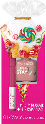 Maybelline New York Glow Set Lippenstift Superstay Ink Crayon 30 + Nagellack Forever Strong 78