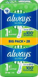 always Ultra Binden Normal BigPack