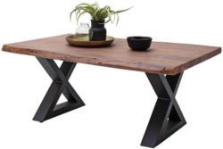 Couchtisch Holz mit Massiver Tischplatte Cartagena, Akazie