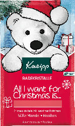Kneipp Badesalz All I want for Christmas is...