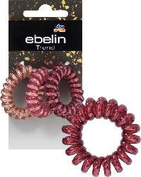 ebelin Haargummis Spirale Farb-Mix