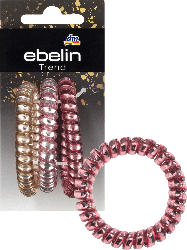 ebelin Haargummis Spirale groß Farb-Mix