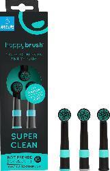 happybrush Aufsteckbürsten Super Clean schwarz