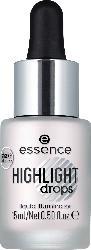 essence cosmetics Highlighter drops liquid illuminator silver lining 10