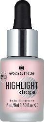 essence cosmetics Highlighter drops liquid illuminator rosy aura 20