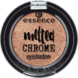 essence cosmetics Lidschatten melted chrome eyeshadow golden crown 08
