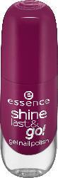 essence cosmetics Nagellack shine last & go! gel nail polish play it again 54