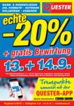 Quester Quester Flugblatt 05.09. bis 21.09. Fliesen Innsbruck & Graz - bis 21.09.2019