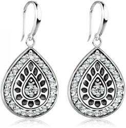 Elli Paar Ohrhänger »Tropfen Swarovski® Kristalle Vintage 925 Silber«