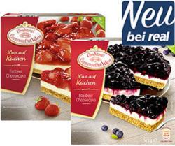 Coppenrath & Wiese  Lust auf Kuchen Erdbeer Chessecake gefroren, jede 550-g-Packung und weitere Sorten