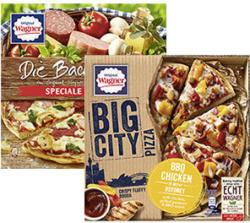 Original Wagner Die Backfrische oder Big City Pizza  gefroren, jede 360-g-Packung und weitere Sorten