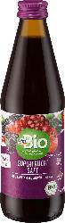 dmBio Superfrucht Saft, Granatapfel, Aronia & Acai