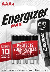 Energizer Alkaline  Max AAA Micro    4St