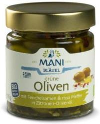 Grüne Oliven m. Fenchel u. Pfeffer