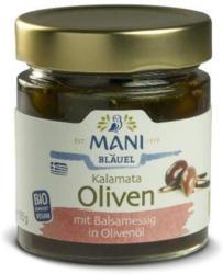 Kalamata Oliven m. Balsamico-Essig in Olivenöl