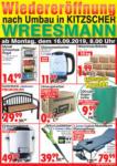 Wreesmann Wiedereröffnung nach Umbau! - bis 20.09.2019