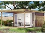 BayWa Bau- & Gartenmärkte Hartmann Gartenhaus Elliot mit großer Falttür, 40mm