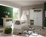 Möbelix Babyzimmer Paula 3-teilig Weiß