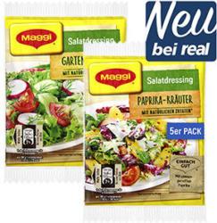 Maggi Salatdressing Trocken versch. Sorten, jede 5er-Packung