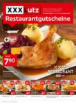 XXXLutz Restaurantgutscheine - bis 05.10.2019