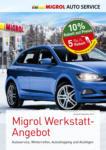 Migrol Tankstelle Migrol Werkstatt-Angebot - au 12.10.2019