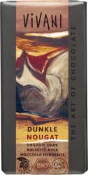 Dunkle Nougat Schokolade