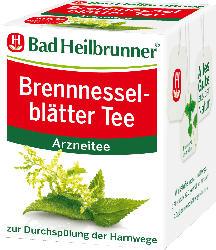 Bad Heilbrunner Brennnesselblätter Tee, 8 x 2 g
