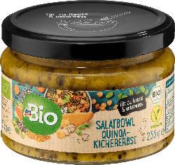 dmBio Salatbowl Quinoa-Kichererbse