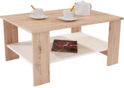 Couchtisch Holz mit Ablagefach Paolo, San Remo Eiche Dekor